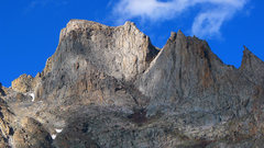 Rock Climbing Photo: Mount Woolsey. The South Arete is the right skylin...