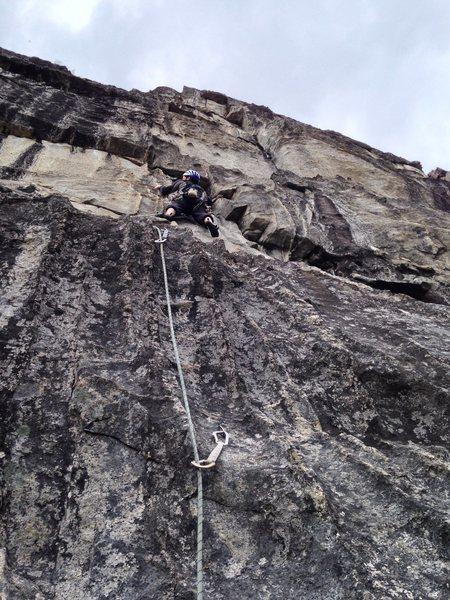 Rock Climbing Photo: Climbing the Lemming Ranch