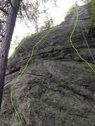 Rock Climbing Photo: left to right: After All This Time 5.7 Always     ...