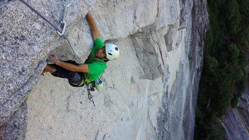 Rock Climbing Photo: Roof