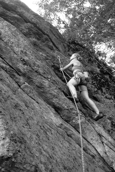 Rock Climbing Photo: one more... BAM!