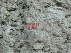 Rock Climbing Photo: The label.