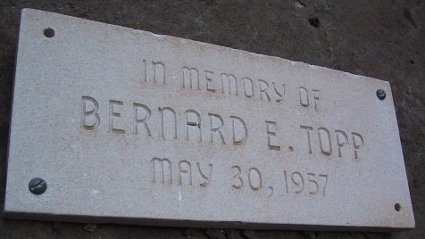Topp Memorial Plaque.