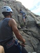 Rock Climbing Photo: Enjoying some road side climbing in Hong Kong.