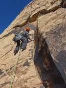 Rock Climbing Photo: Andrei Zippy on the start of P3 or top of 2nd pitc...