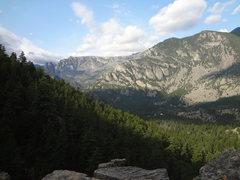 Rock Climbing Photo: The canyon from Woodbine Falls