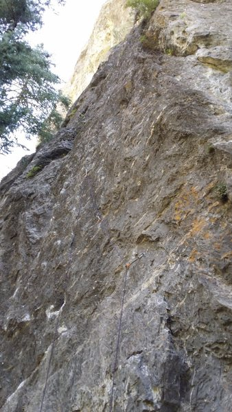 Rock Climbing Photo: Save some skin for this route!