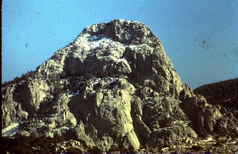 Needle. Sw ridge on right