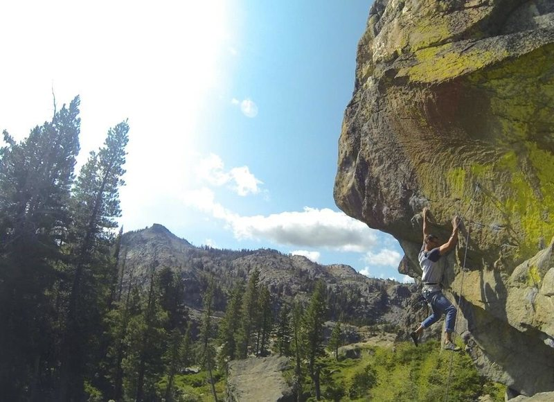 Rock Climbing Photo: juggs