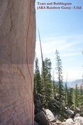 Rock Climbing Photo: Tears and Bubblegum (AKA Rainbow Guru; August 2015...