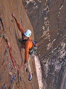 Rock Climbing Photo: Sunny Jamshedji way up Excellent Adventure as phot...