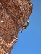 Rock Climbing Photo: Nic Vitali on Caustic Cock, spring 2014.  I though...