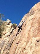 Rock Climbing Photo: 5.8 @ staircase.
