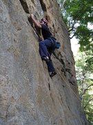 Rock Climbing Photo: Mr green jeans
