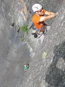 Rock Climbing Photo: Kevin MudRat MacKenzie climbing P2.