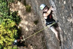 Rock Climbing Photo: Trent getting some sweet act