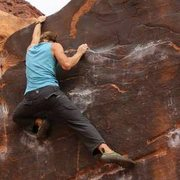 Rock Climbing Photo: Moab Bouldering