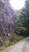 Rock Climbing Photo: Near last peice
