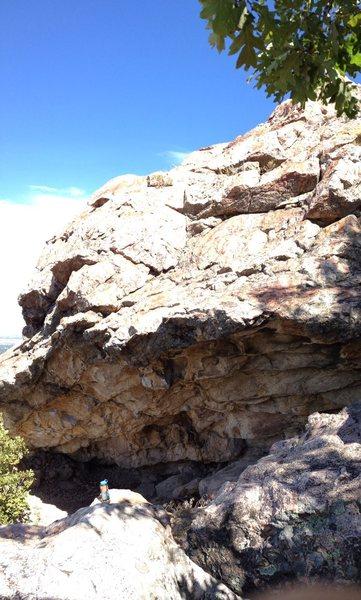 Rock Climbing Photo: Spirit Walker