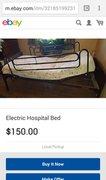 Hospital Bed - $150