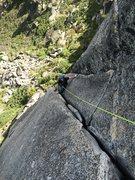 Rock Climbing Photo: one hand