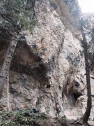 Rock Climbing Photo: Very bouldery start of BoL