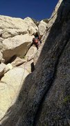 Rock Climbing Photo: up, up, up the chimney!