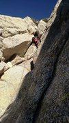 Rock Climbing Photo: one of the chimneys on Sahara terror