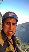 Rock Climbing Photo: Gerardo second guessing this climb!
