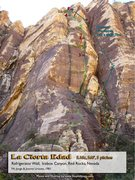 Rock Climbing Photo: Route Overlay La Cierta Edad