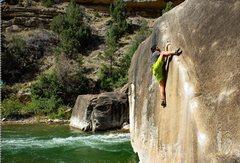 Rock Climbing Photo: Joe sending the Angler