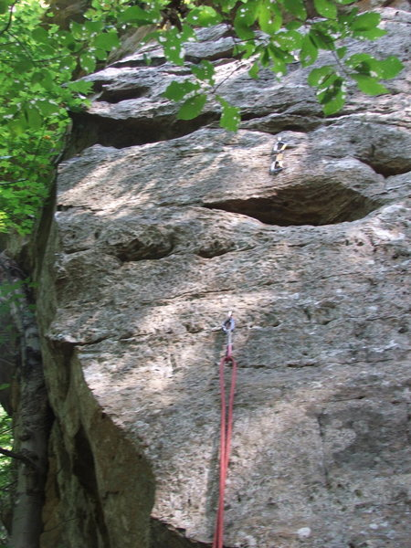 Rock Climbing Photo: Bottom of route