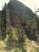 Rock Climbing Photo: Pin Route.