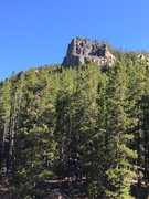 Rock Climbing Photo: Prospector crag from the parking area