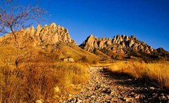 Rock Climbing Photo: Rabbit Ears Massif above Topp Hut