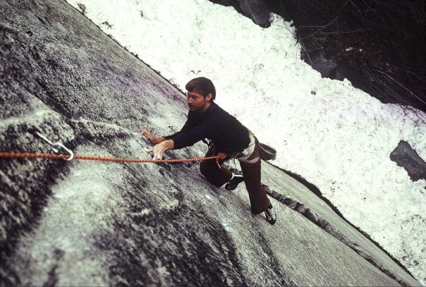 Following the first pitch of Green Dragon in April 1983. Photo: Urmas Franosch