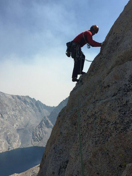 Rock Climbing Photo: Pitch 8 blocky terrain