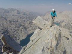 Rock Climbing Photo: Ridgeline from the final belay