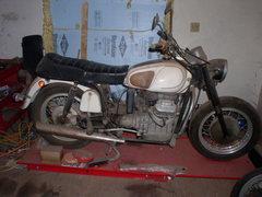 1970 Moto Guzzi