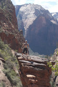 Rock Climbing Photo: Me. Near Angels Landing