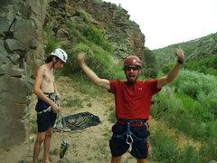 Rock Climbing Photo: Success is mine!
