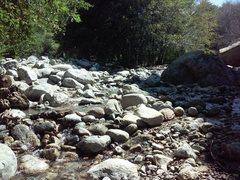 Rock Climbing Photo: Mill Creek Wash, Thurman Flat