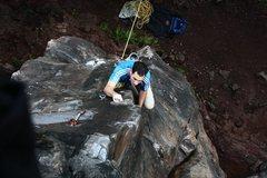 Rock Climbing Photo: Dragon slayer, 5.12d