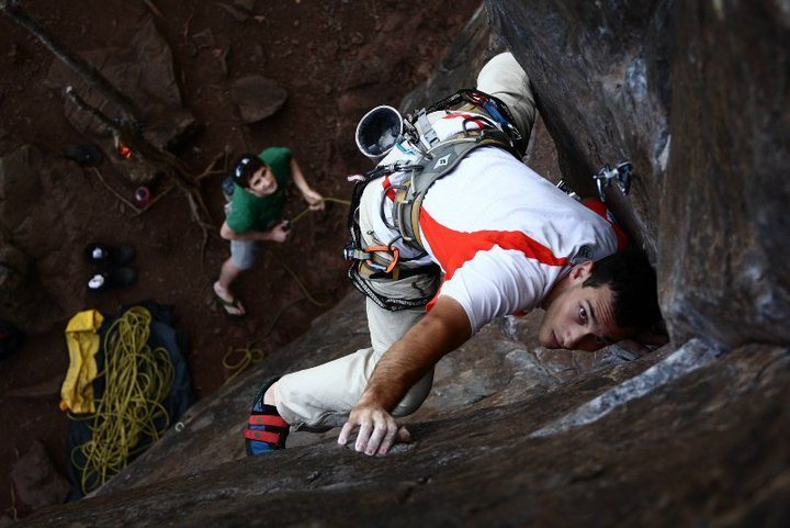 Rock Climbing Photo: Torpedoed Youth, 5.11d