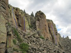 Rock Climbing Photo: Picture taken below first route The Keener, lookin...