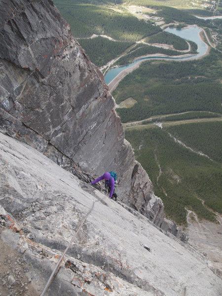 Rock Climbing Photo: NE Ridge Ha Ling Canmore, Alberta
