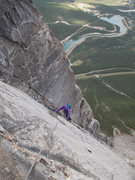 Rock Climbing Photo: NE Ridge Ha Ling Canmore, Alberta