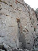 Rock Climbing Photo: Starting corner.