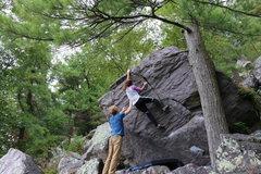 Rock Climbing Photo: Lemon at the top