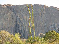 Rock Climbing Photo: Climbs of Hambushaba,